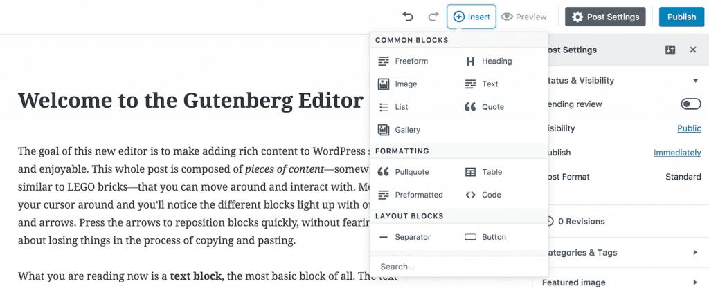 Post Gutenberg
