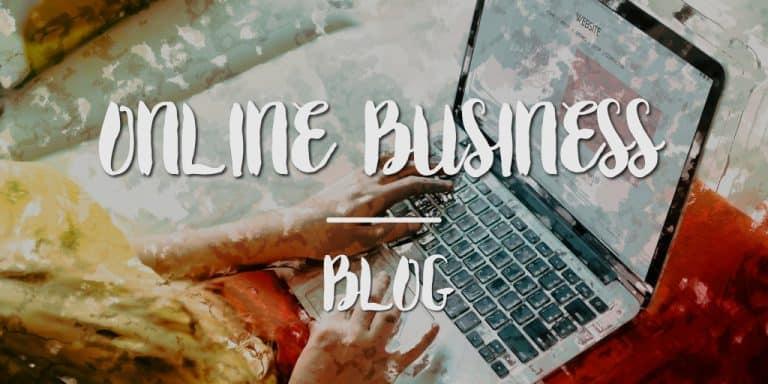 Kinh doanh online voi blog