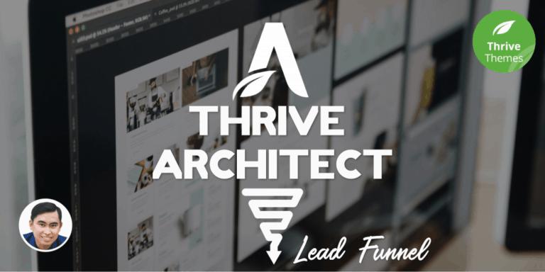 Cách dễ dàng để tạo Lead Funnel tặng ebook với Thrive Architect [Thrive Themes]