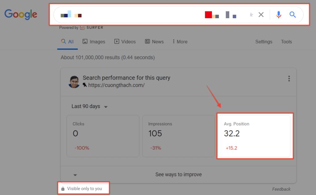 Theo Doi Keyword Ranking Tren Google Search